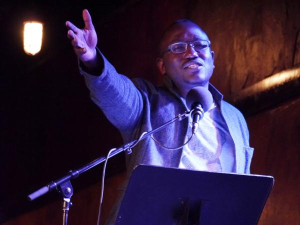 Hannibal Buress on <em>Ask Me Another.</em>