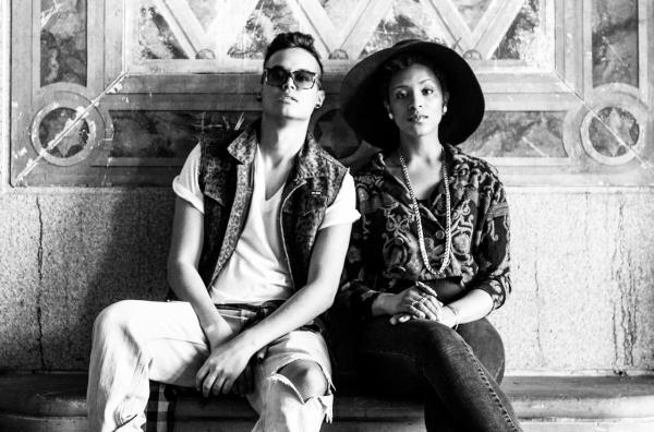 Brooklyn electro-soul duo Denitia and Sene are among the artists KCRW DJ Anthony Valadez introduces us to in the latest installment of Here & Now DJ Sessions. (Mats Bakken)
