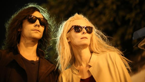 Tom Hiddleston and Tilda Swinton play some really hip vampires in Jim Jarmusch's <em>Only Lovers Left Alive</em>.
