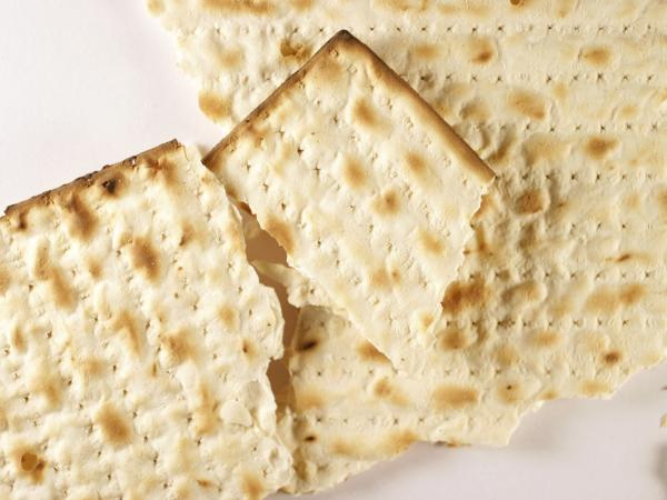 The holes in matzo give the cracker its characteristic crunch,
