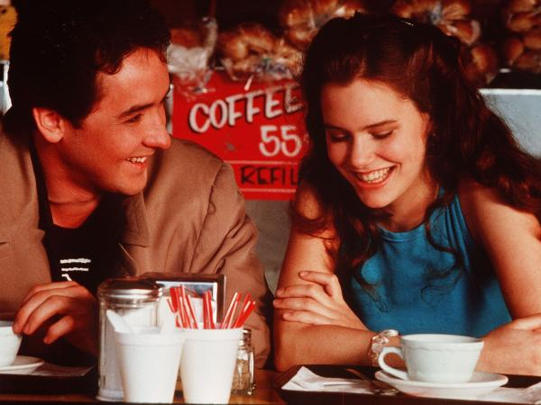 John Cusack and Ione Skye in <em>Say Anything</em>.