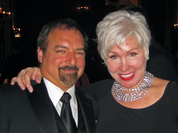 Rhonda Sanderson and her ex-husband, John Amato III, shown here in 2010, helped make a business thrive after they divorced.<strong> </strong>