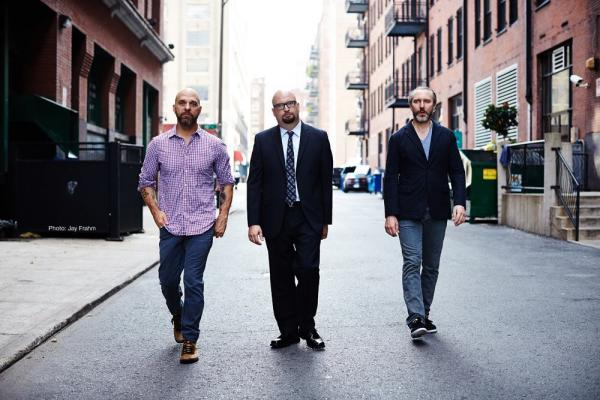 Drummer David King, pianist Ethan Iverson and bassist Reid Anderson are the band The Bad Plus. (Jay Frahm)