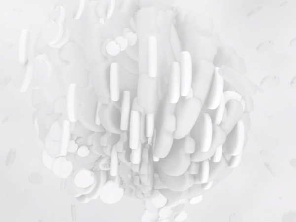 "The pulsating imagery for Lakker's ""Thermohaline"" video."