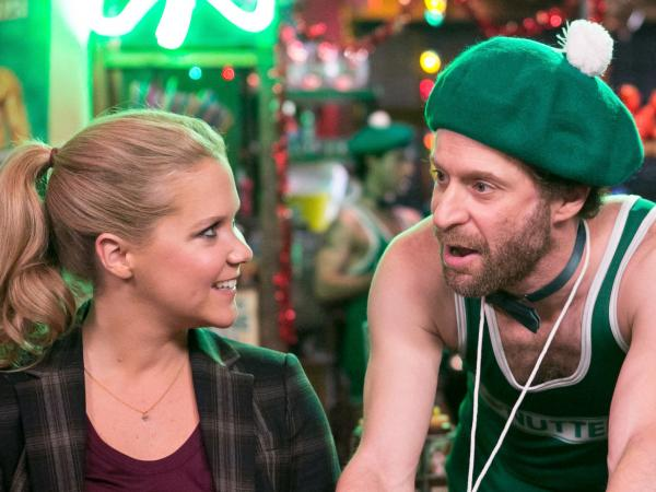 <em></em>On <em>Inside Amy Schumer, </em> the comic (here with Jon Glaser and Adrian Martinez) deploys everything from scripted vignettes to stand-up comedy and man-on-the-street-style interviews.