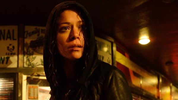 Tatiana Maslany plays many roles in BBC America's <em>Orphan Black</em>.