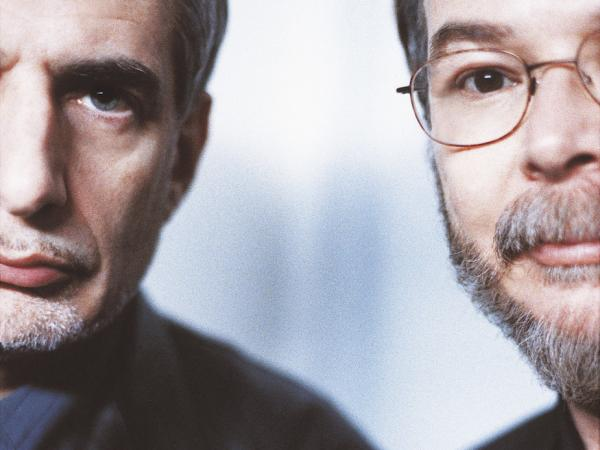 Donald Fagen (left) and Walter Becker of Steely Dan.