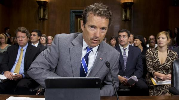 Republican Sen. Rand Paul of Kentucky testified last year in favor of revamping the nation's mandatory federal minimum sentencing laws.