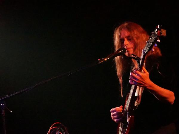 Juana Molina performing in Vienna, VA.