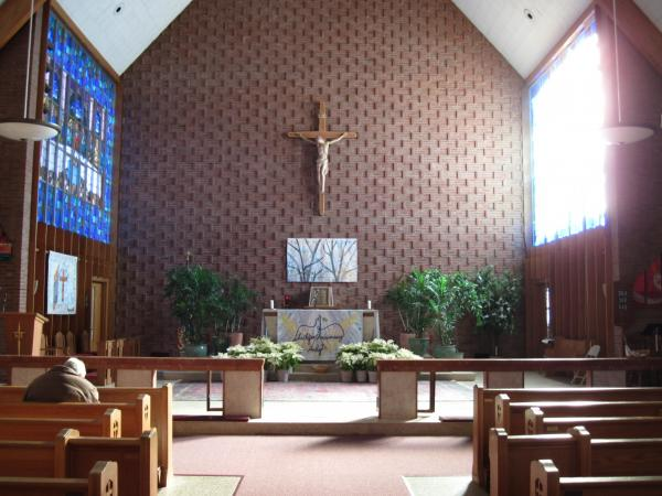 Since 2004, members of the Saint Frances Cabrini Catholic Church have continuously occupied the building to keep it from shutting down.