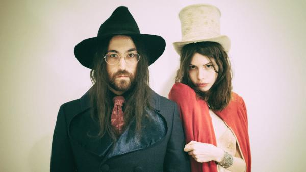 The band The Ghost of a Saber Tooth Tiger consists of Sean Lennon and his girlfriend and fellow musician Charlotte Kemp Muhl. (Courtesy of the artist)