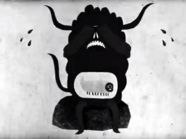 An animated monster weeps in a new video from Courtney Barnett.