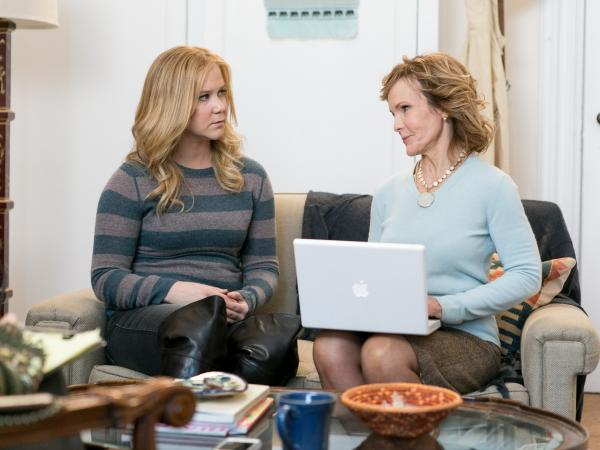 <em>Inside Amy Schumer</em> showcases the work of Schumer, here with Deborah Rush.
