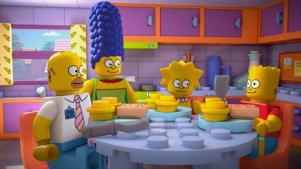 "<em>The Simpsons </em>enters the world of Lego in the upcoming episode ""Brick Like Me."""