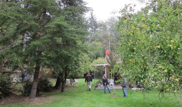 Oregon Department of Agriculture staff take samples from properties near Gold Beach, Ore., to investigate an alleged overspray on Oct. 16, 2013. Two of the seven samples showed trace amounts of herbicides off their target application sites.