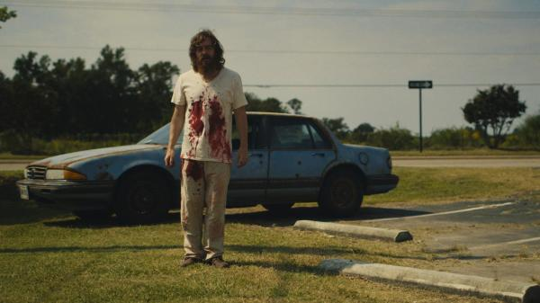 Macon Blair plays Dwight in the unsettling revenge thriller <em>Blue Ruin</em>.