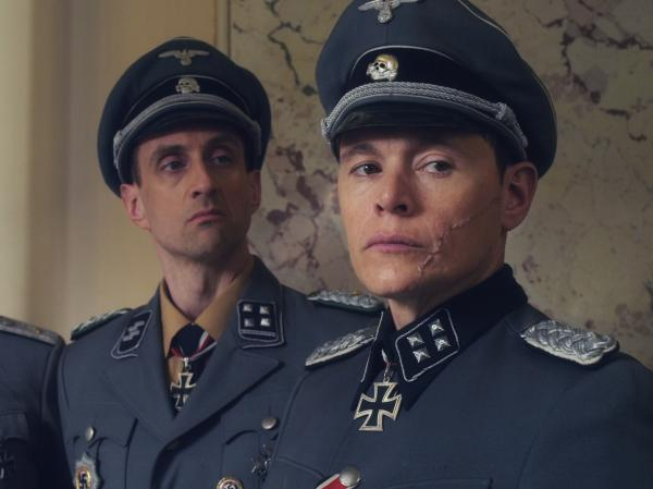 Charles De'ath, Charles Hubbell and Burn Gorman in <em>Walking With The Enemy</em>.