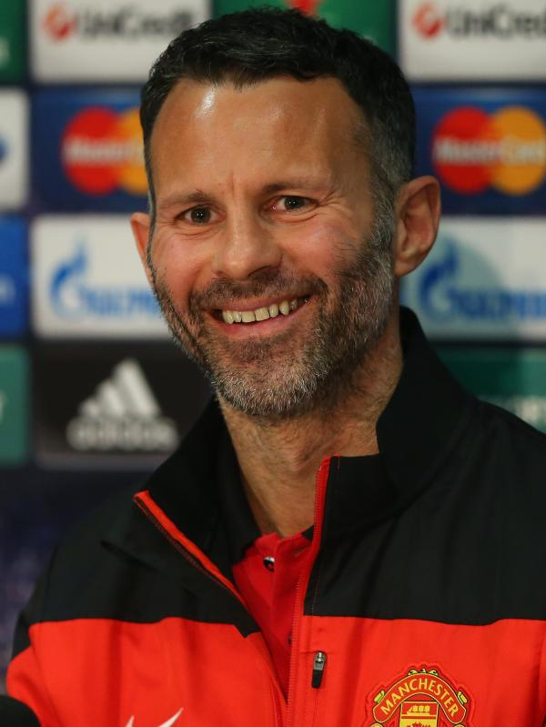 Ryan Giggs, who is filling in as manager of Manchester United, one of the world's most valuable and most popular soccer clubs. He's vowing to make fans proud of the team again.