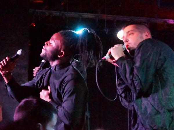 Young Fathers at U Street Music Hall in Washington, D.C.