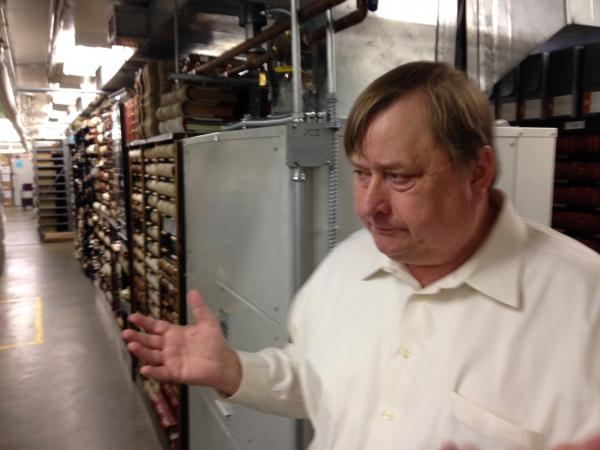 State Archivist Steve Excell says the overnight flood would have been a disaster if it had happened on a weekend.