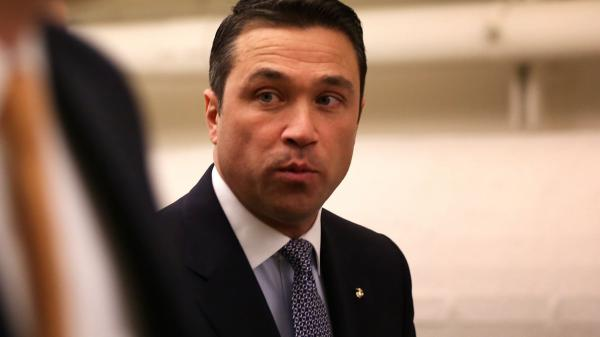 Rep. Michael Grimm (R-N.Y.), seen here last year, is expected to be indicted on criminal charges. His lawyer says Grimm has done nothing wrong.