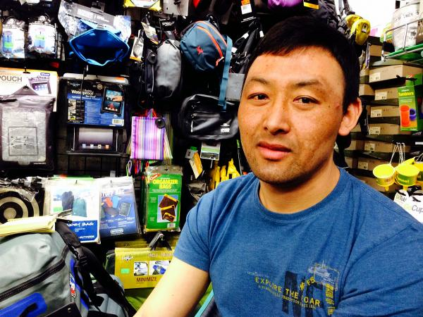 "Passang Sherpa, a guide who works for Tent & Trails in New York City, says the recent deaths on Mount Everest are ""very painful"" to the Sherpa community here."