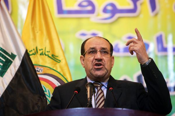 Iraqi Prime Minister Nouri al-Maliki is seeking another four years in power. The country votes Wednesday amid increased violence between the security forces and opposition groups.
