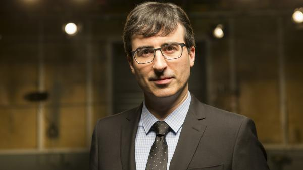 John Oliver's new show, <em>Last Week Tonight</em>, debuted Sunday on HBO.
