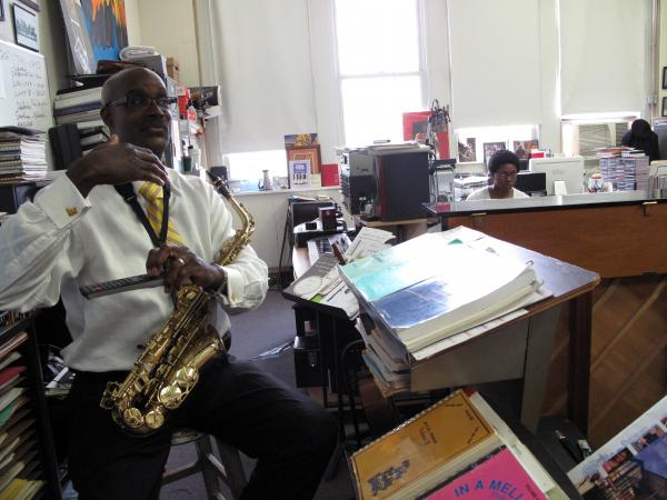 Davey Yarborough has led the jazz program at Duke Ellington School of the Arts since 1986.