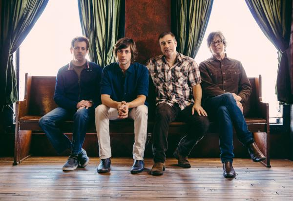 """The members of Old 97s (from left): Philip Peeples, Rhett Miller, Ken Bethea and Murry Hammond. Their new album is """"Most Messed Up."""" (Courtesy)"""