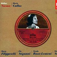 Maria Callas in Bellini's <em>Norma</em>.