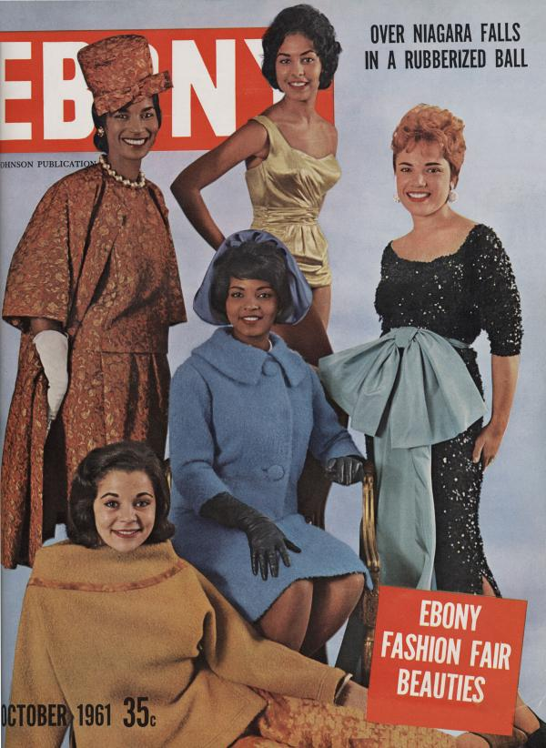 Cover of <em>Ebony</em>, October 1961.