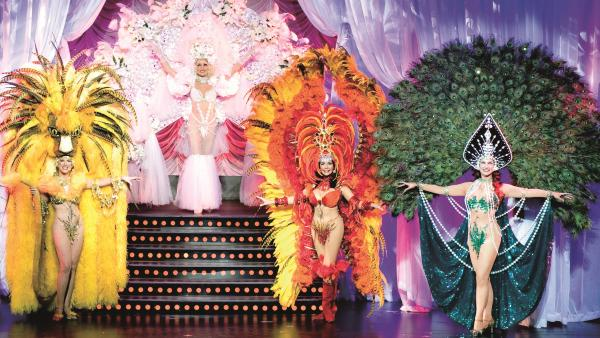 "Each season during the Follies' ""Pretty Girl"" number, dancers introduce themselves to the audience while wearing extraordinary costumes, and prove that age is just a number."