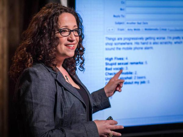 Amy Webb explains how she found love with some help from algorithms.