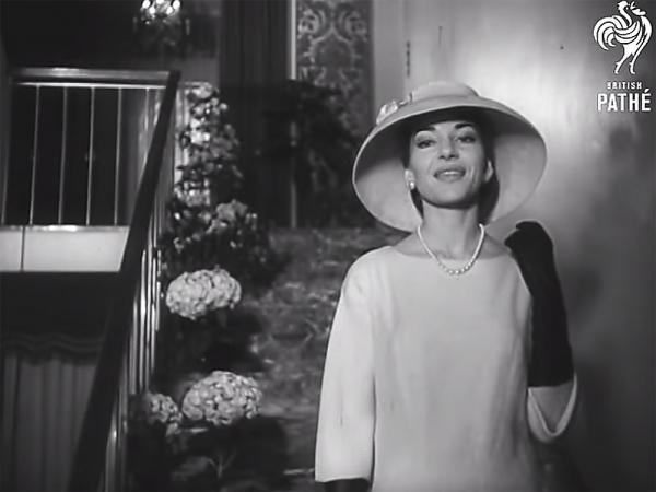 Maria Callas at home in her Milan Apartment, in 1958. One of 85,000 archive films British Pathé has uploaded to YouTube.