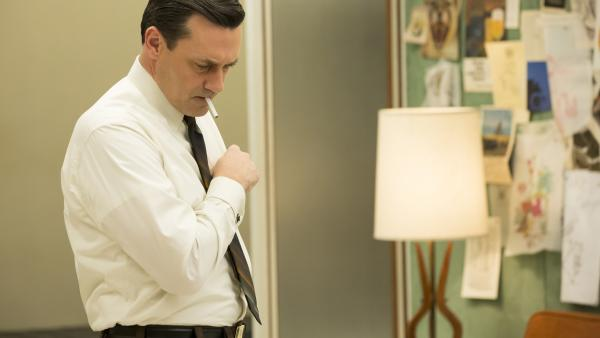 Matthew Weiner says sometimes he wakes up in the middle of the night wondering if there'd even be a <em>Mad Men</em> without Jon Hamm, who plays Don Draper.