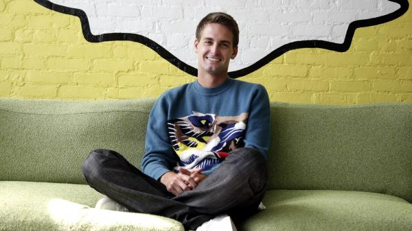 Evan Spiegel  is the CEO of Snapchat. The company recently introduced a new chatting feature in the app, which deletes message seconds after they are viewed.