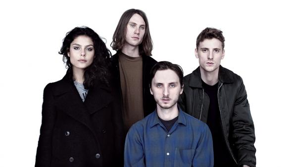 These New Puritans, from left: Elisa Rodrigues, Thomas Hein, Jack Barnett, George Barnett.
