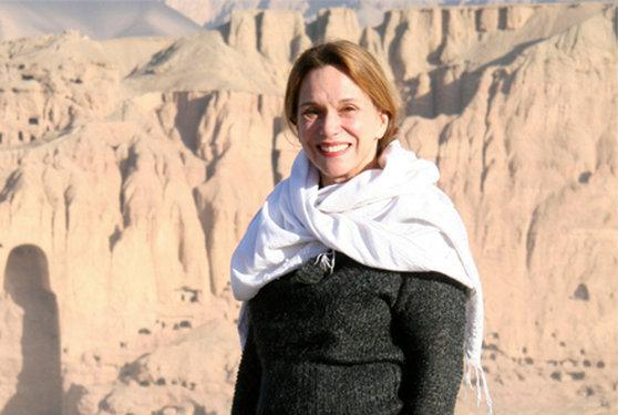 Renee Montagne is pictured in Bamiyan, Afghanistan, in 2013.   (Courtesy of Jim Wildman/NPR)