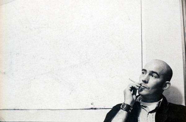 "In this undated image, Hunter S. Thompson is shown in a promotional photo from the film, ""Gonzo: The Life and Work of Dr. Hunter S. Thompson."" (Magnolia Pictures via AP)"