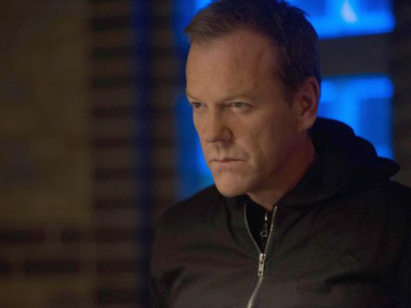 Jack (Kiefer Sutherland) is back in Fox's <em>24: Live Another Day</em>.