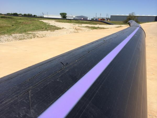 Wichita Falls constructed a 13-mile pipeline to deliver the city's wastewater to a purification plant.