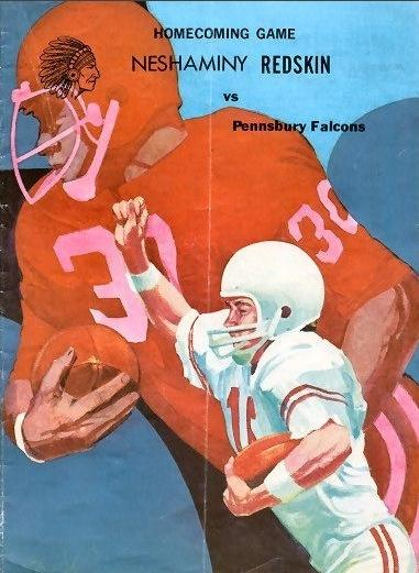 This poster advertises Neshaminy's 1971 homecoming game.