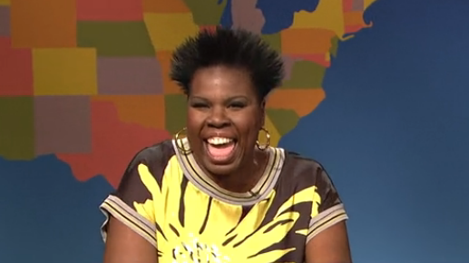 "Leslie Jones played an ""image expert"" on last weekend's <em>SNL. </em>"