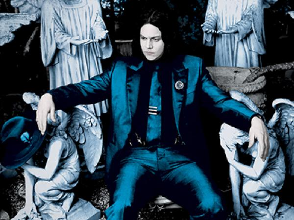 Cover art for Jack White's new album <em>Lazaretto.</em>