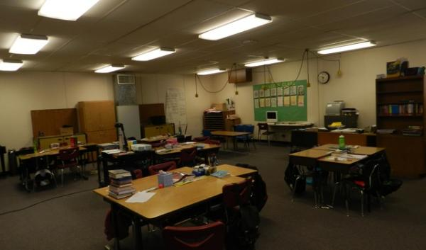 Montclair Elementary in Beaverton has a portable classroom that was built in 1969.