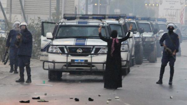 A protest during the Arab Spring