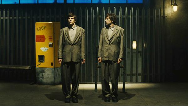 Jesse Eisenberg's performance as mystery doppelgangers will have you seeing<em> Double.</em>