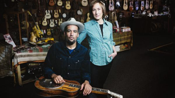 Ben Harper and his mother, Ellen Harper.