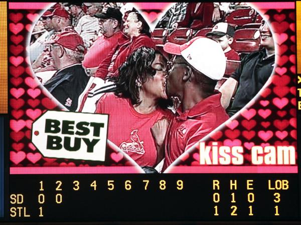 If Match.com and MLB's new collaboration works out, more couples could be rounding first base on the kiss cam.